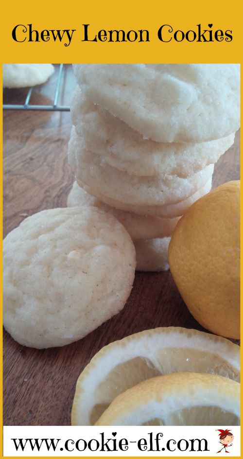 Chewy Lemon Cookies from The Cookie Elf