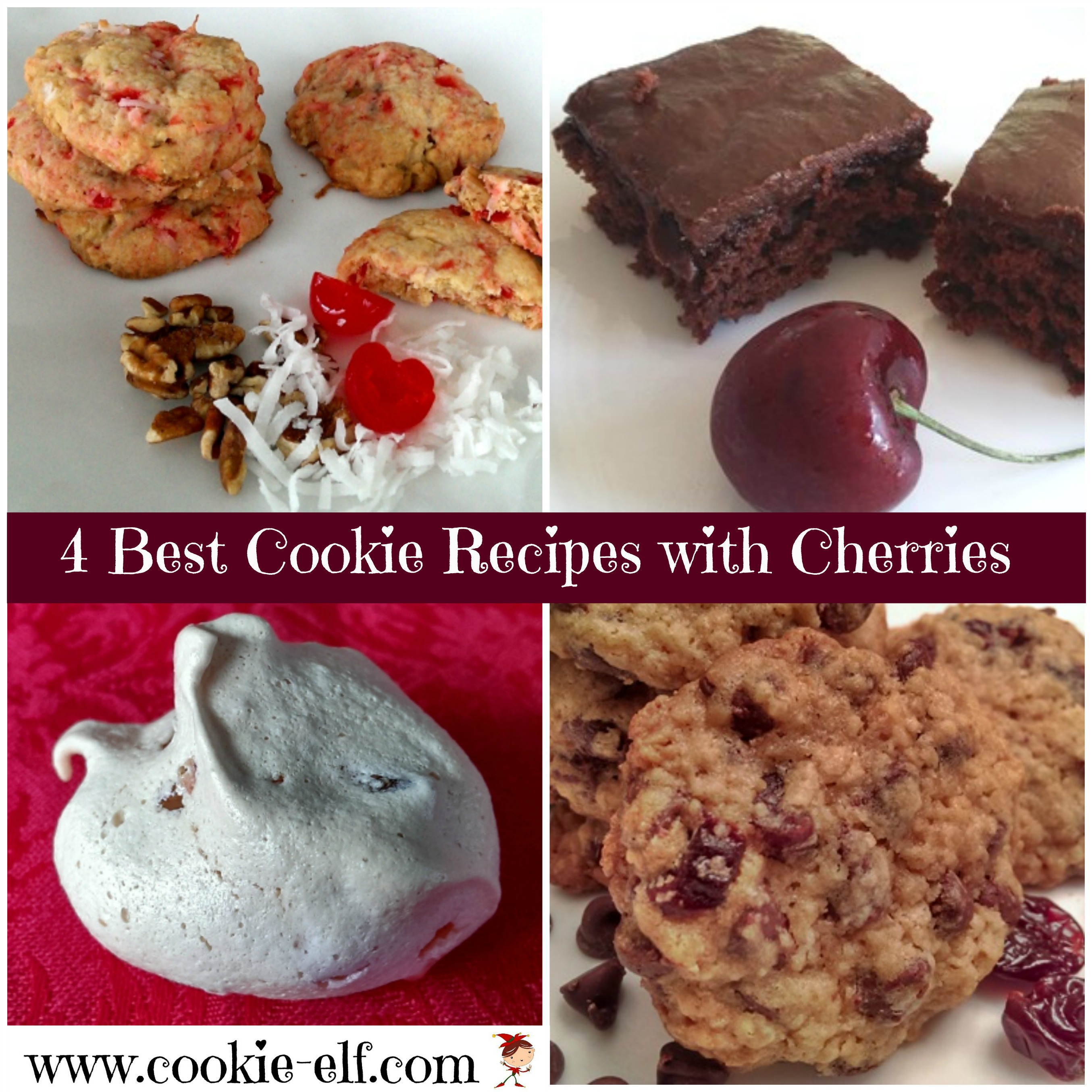 4 Best Cookie Recipes with Cherries