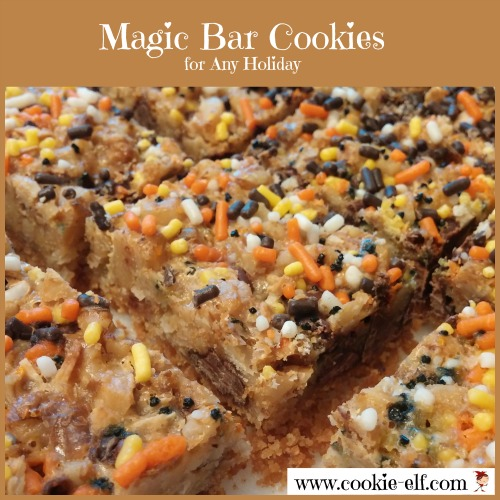 Halloween Magic Bar Cookies from The Cookie Elf