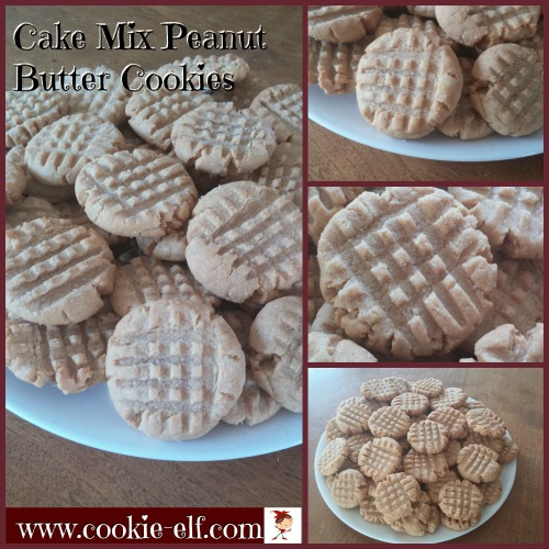Cake Mix Peanut Butter Cookies by The Cookie Elf