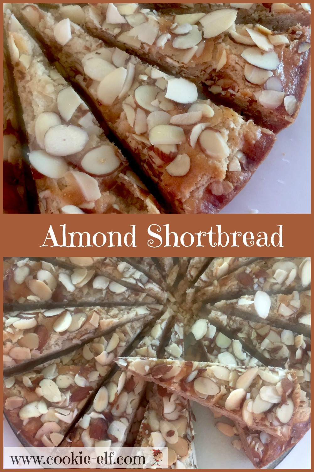 Almond Shortbread with The Cookie Elf