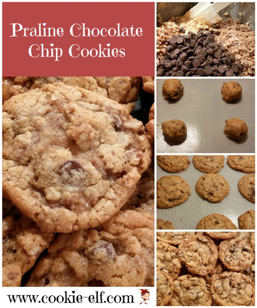 Praline Chocolate Chip Cookies