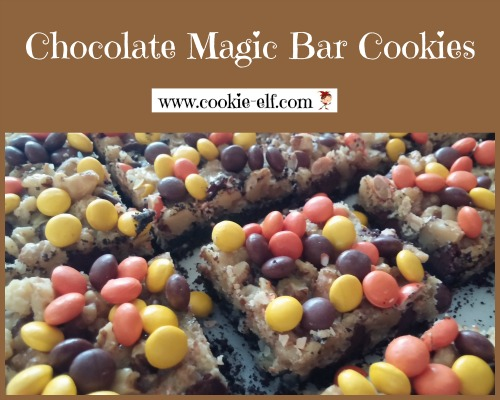 Chocolate Magic Bar Cookies by The Cookie Elf