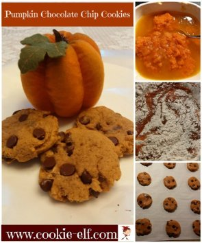 Pumpkin Chocolate Chip Cookies from The Cookie Elf