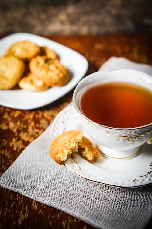 Irish cookies and tea with The Cookie Elf