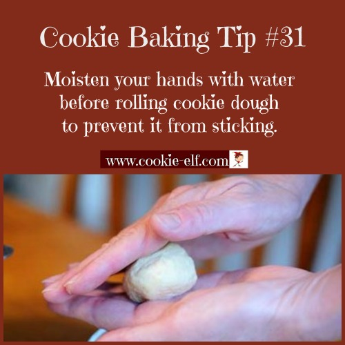 Cookie Baking Tip #31 for molded cookies with The Cookie Elf