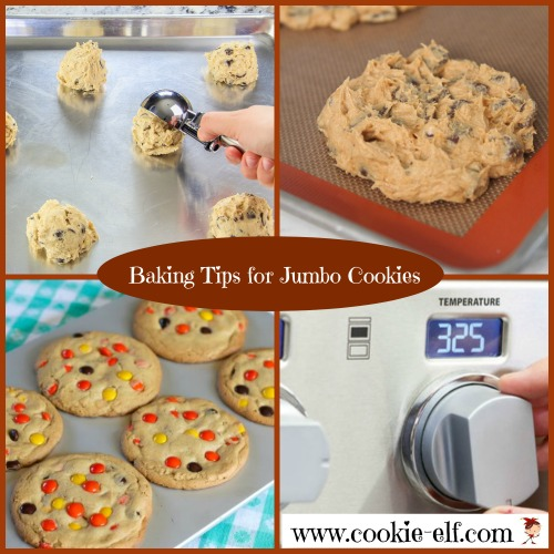 Baking Tips for Jumbo Cookies with The Cookie Elf