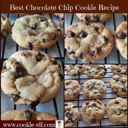 Best Chocolate Chip Cookie Recipe from The Cookie Elf