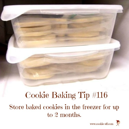Cookie Baking Tip #116 with The Cookie Elf