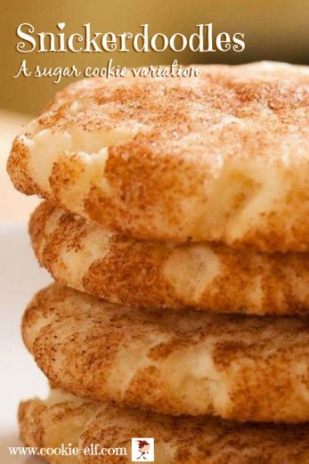 Snickerdoodles: a sugar cookie variation with The Cookie Elf