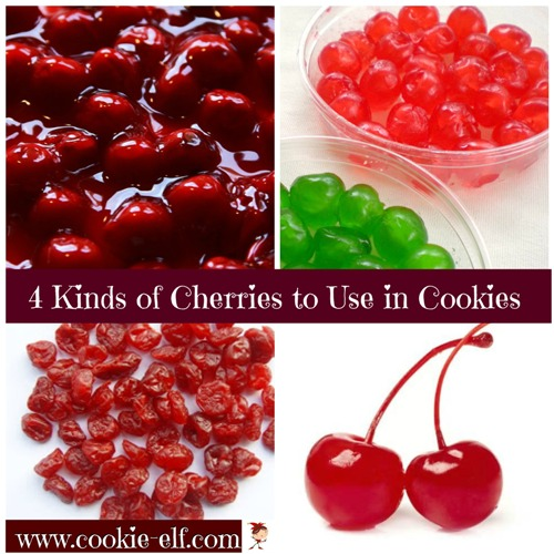 4 kinds of cherries to use in cookie recipes