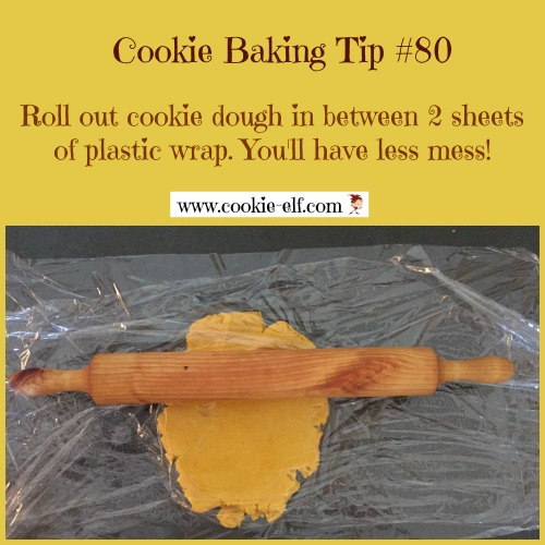 Cookie Baking Tip for rolled cookies with The Cookie Elf