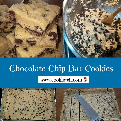 Chocolate Chip Bar Cookies from The Cookie Elf