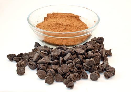 Kinds of chocolate in chocolate cookie recipes with The Cookie Elf