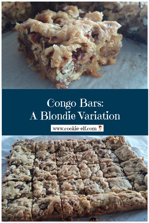 Congo Bars: a popular blonde brownies variation from The Cookie Elf