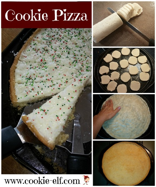 Cookie Pizza from The Cookie Elf