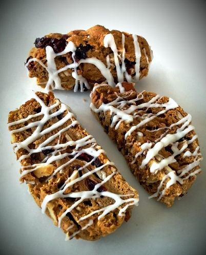 Cranberry Almond Biscotti