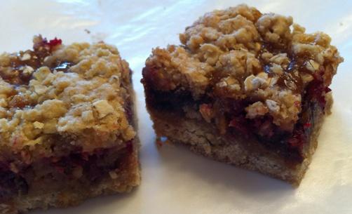 Cramberry Caramel Date Cookies