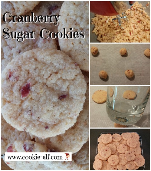 Cranberry Sugar Cookies by The Cookie Elf