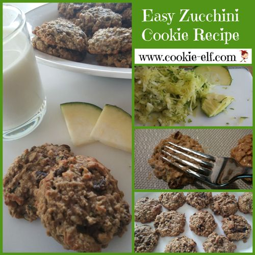 Easy Zucchini Cookie Recipe from The Cookie Elf