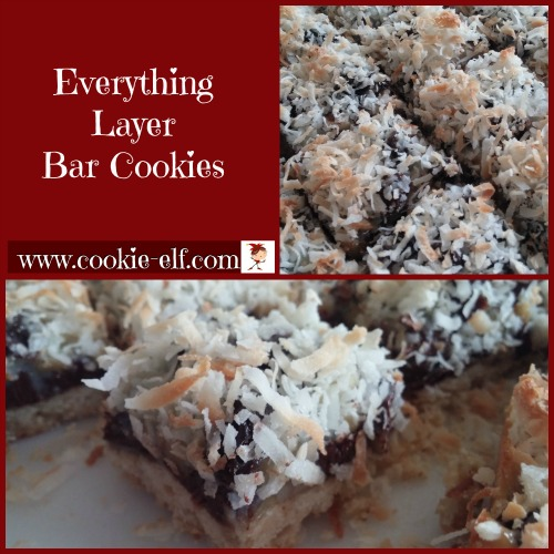 Everything Layer Bar Cookies from The Cookie Elf