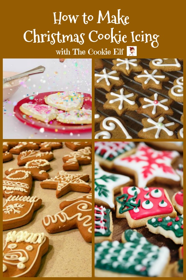 How to make Christmas cookie icing with The Cookie Elf
