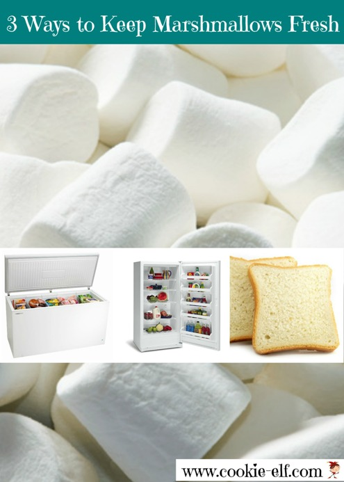 3 Ways to Keep Marshmallows Fresh after Opening the Bag from The Cookie Elf