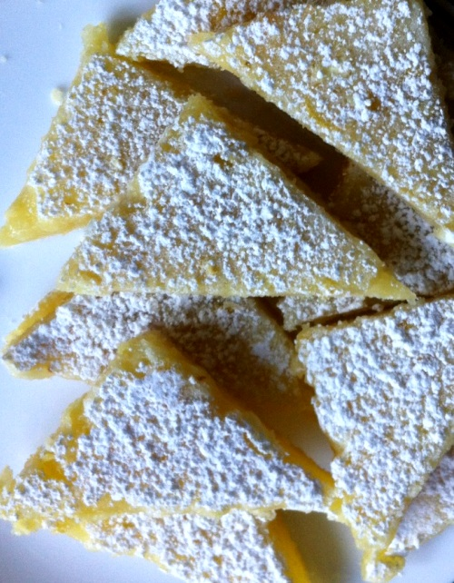 Lemon Bars from The Cookie Elf