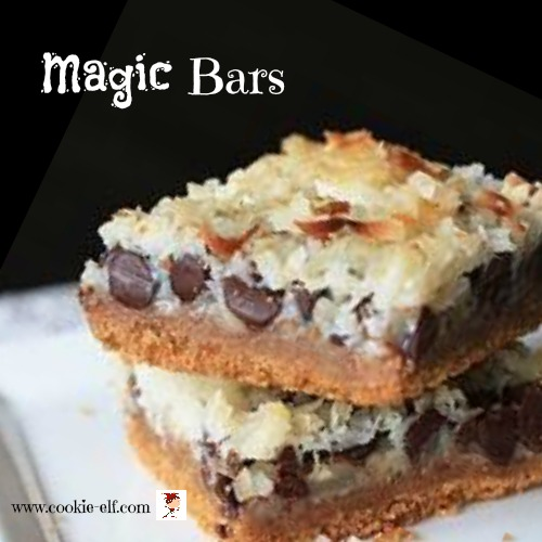 Magic Bars with The Cookie Elf