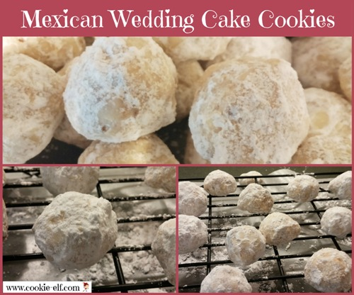 Mexican Wedding Cake Cookies from The Cookie Elf