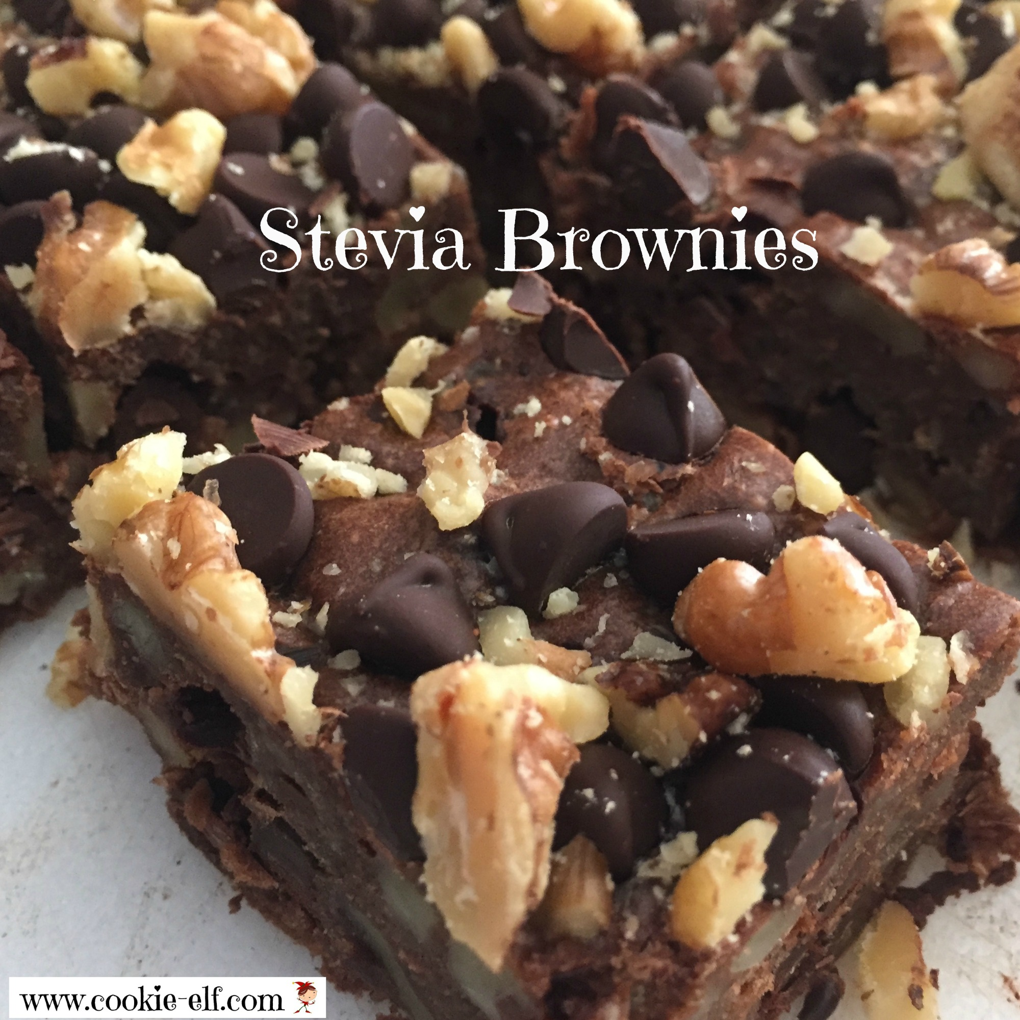 Stevia Brownies from The Cookie Elf