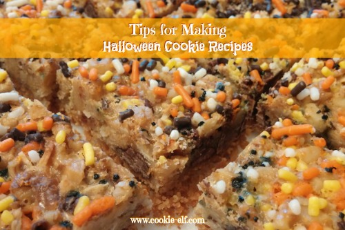 Time-saving tips for making Halloween cookie recipes