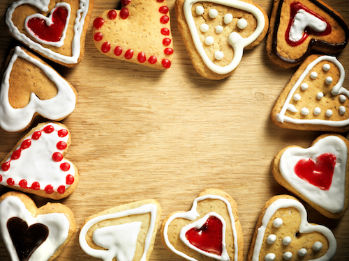 Valentine Cookies with The Cookie Elf