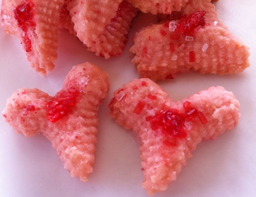 Valentine Press Cookies