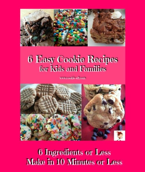 6 Easy Cookie Recipes