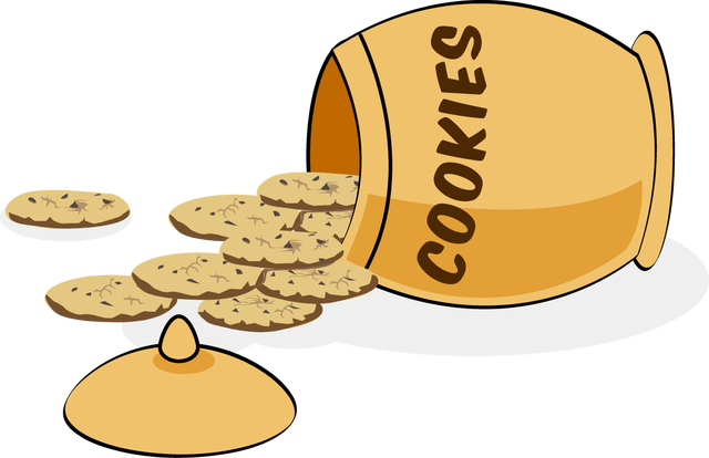 Image: Cookie Jar from Web Clip Art