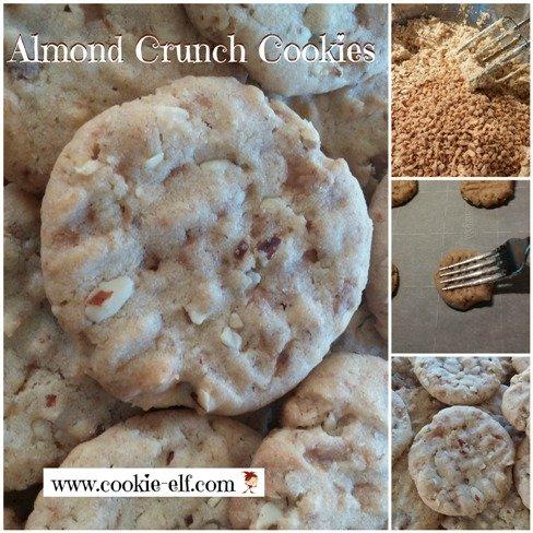 Almond Crunch Cookies from Pillsbury Bake-Off #30