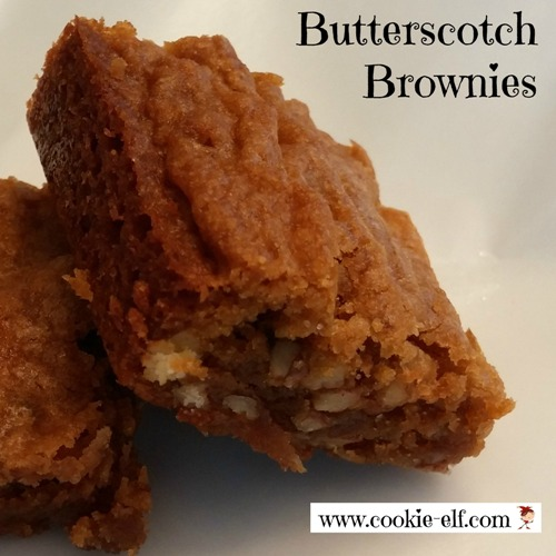 Butterscotch Brownies: Simple Blondies From Scratch