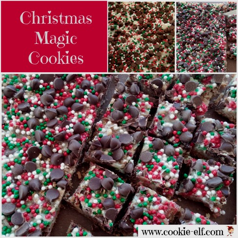 Christmas Magic Cookie Bars from The Cookie Elf