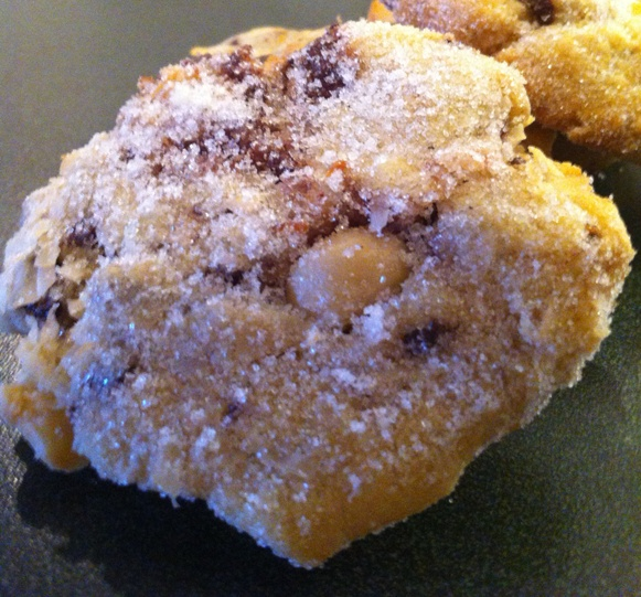 Coconut Macadamia Nut Cookies: ingredients, directions, and a special tip from The Elf to make delicious Coconut Macadamia Nut Cookies – a rich, unusual drop cookie.