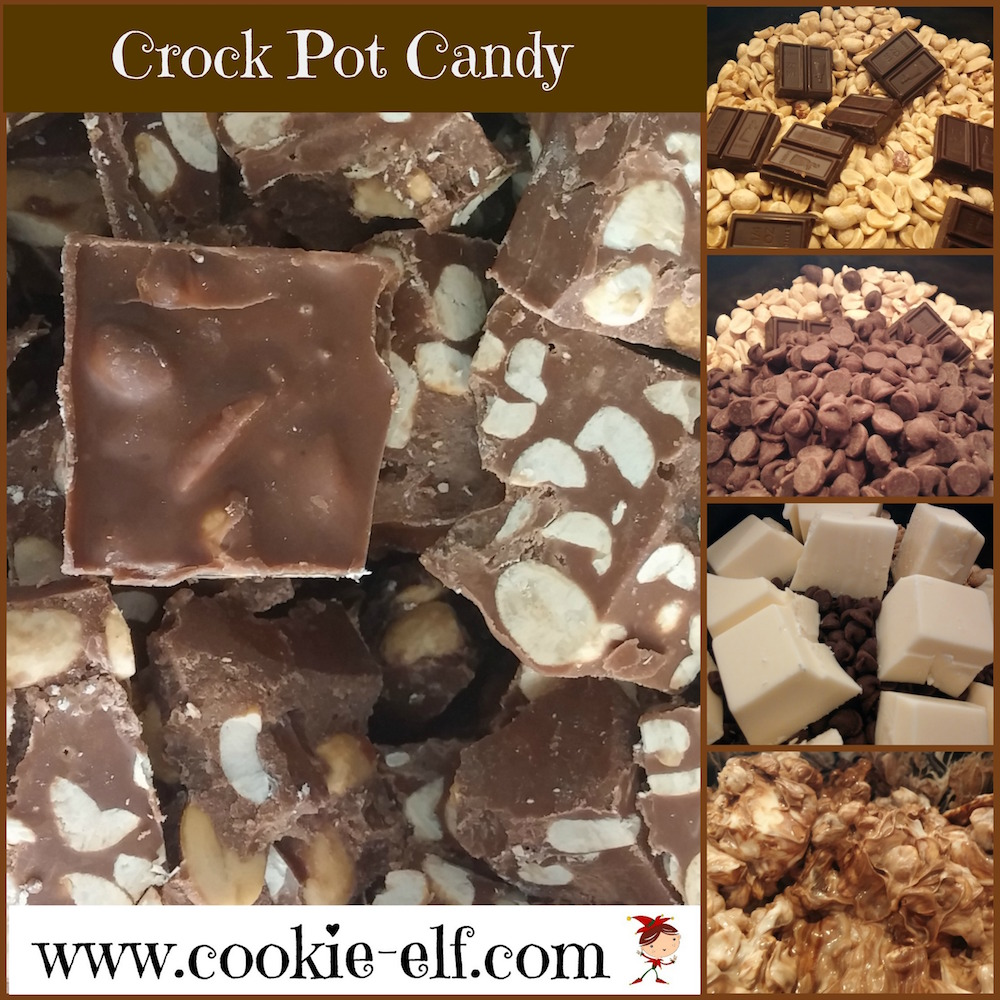 Crock Pot Candy from The Cookie Elf
