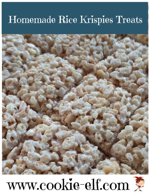 Homemade Rice Krispie Treats