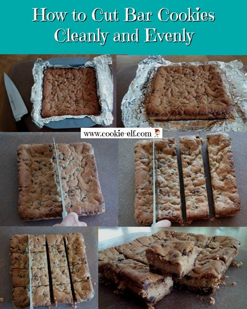 How to Cut Bar Cookies Cleanly and Evenly