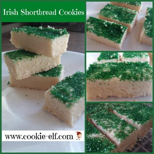 Irish Shortbread Cookies from The Cookie Elf