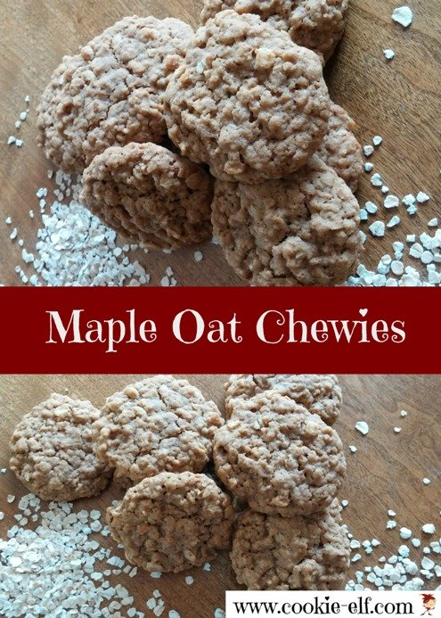 Maple Oat Chewies from The Cookie Elf