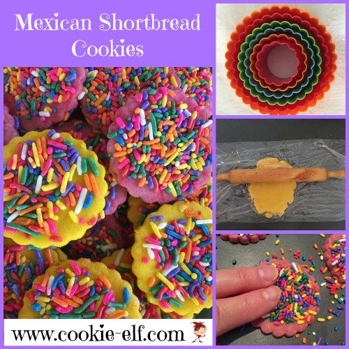 Mexican Shortbread Cookies from The Cookie Elf