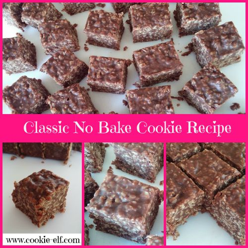 The Classic No Bake Cookie Recipe from The Cookie Elf