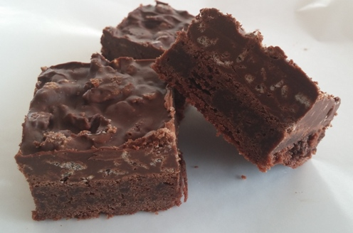 Nutella Crunch Brownies