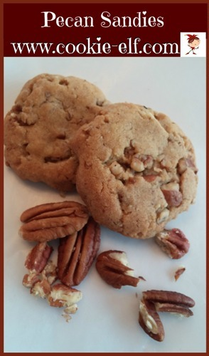 Pecan Sandies: Easy Drop Cookie Recipe, very rich!