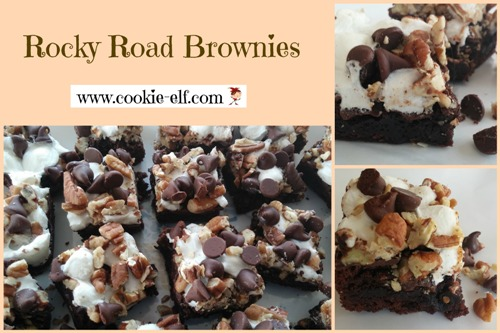 Rocky Road Brownies by The Cookie Elf